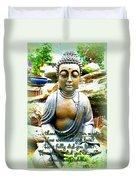 Buddha Quotes Duvet Cover