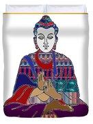 Buddha Spirit Humanity Buy Faa Print Products Or Down Load For Self Printing Navin Joshi Rights Mana Duvet Cover