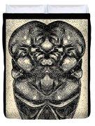 Buddha Vase Duvet Cover