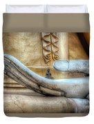 Buddha's Hand Duvet Cover