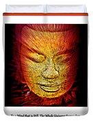 Buddhas Mind IIi Duvet Cover
