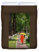 Buddhist Monk 01 Duvet Cover
