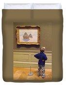 Budding Art Enthusiast Duvet Cover