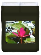 Budding Majesty  Duvet Cover