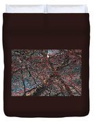 Budding Maple Tree Duvet Cover