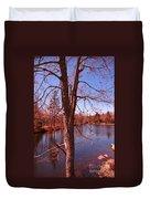 Budding Spring Tree Duvet Cover