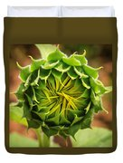 Budding Sunflower Duvet Cover
