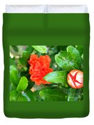 Buds And Frills Duvet Cover