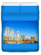 Buenos Aires Waterfront Duvet Cover