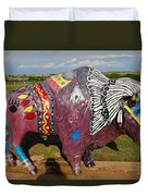 Buffalo Artwork Duvet Cover