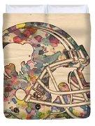 Buffalo Bills Vintage Art Duvet Cover