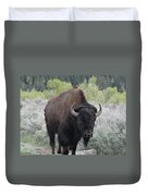 Buffalo Bird Duvet Cover