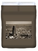 Buffalo Central Terminal Winter 2013 Duvet Cover