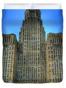 Buffalo City Hall Duvet Cover by Tammy Wetzel