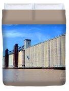 Buffalo Grain Mill Duvet Cover