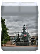 Buffalo Naval And Military Park Duvet Cover