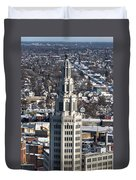 Buffalo Ny Electric Building Winter 2013 Duvet Cover