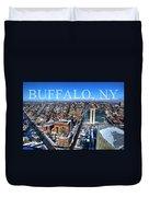 Buffalo Ny Winter 2013 Duvet Cover