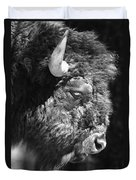 Buffalo Portrait Duvet Cover
