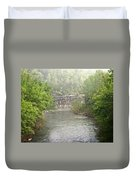 Buffalo River Mist Horizontal Duvet Cover