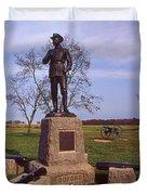 Buford At Gettysburg Duvet Cover