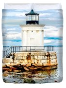 Bug Light Study Duvet Cover