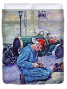 Bugatti-angouleme France Duvet Cover by Derrick Higgins