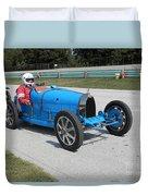 Bugatti Type 35 Racer Duvet Cover