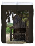 Buggy In The Barn Duvet Cover