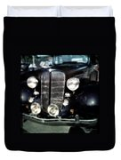 Buick At The Car Show Duvet Cover