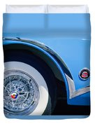Buick Skylard Wheel Emblem Duvet Cover