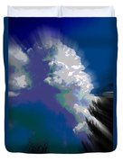 Building Cumulus Abstract Duvet Cover