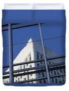 Building Reflection Duvet Cover
