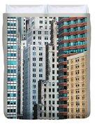 Buildings Duvet Cover