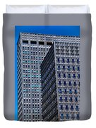 Buildings Downtown Pittsburgh Duvet Cover
