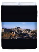 Buildings In A City, Toledo, Toledo Duvet Cover