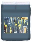 Bulgarian Graffiti Duvet Cover