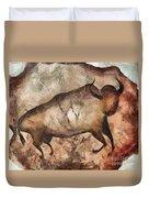 bull a la Altamira Duvet Cover