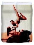 Bull Dancers Duvet Cover