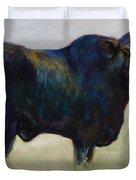 Bull Duvet Cover by Frances Marino