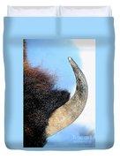 Bull Horn Duvet Cover