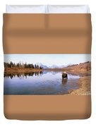 Bull Moose Grand Teton National Park Wy Duvet Cover