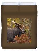 Bull Moose II Duvet Cover