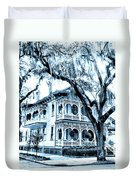 Bull Street House Savannah Ga Duvet Cover