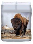 Bull Strut Duvet Cover