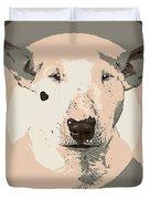 Bull Terrier Graphic 1 Duvet Cover