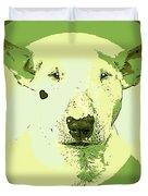 Bull Terrier Graphic 2 Duvet Cover