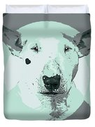 Bull Terrier Graphic 3 Duvet Cover