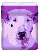Bull Terrier Graphic 5 Duvet Cover