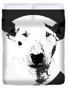 Bull Terrier Graphic 6 Duvet Cover